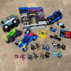 Huge Imaginext Batman Lot 25 pieces
